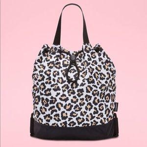 NWT Converse mini bucket 3 way cheetah bag